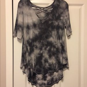 """American Eagle """"soft and sexy"""" cross front shirt"""